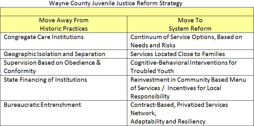 Juvenile Justice In Detroit Champions Community Rehabilitation In A