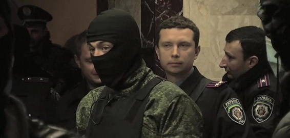 Pro-Russian militants in Eastern Ukraine. (Credit: VOA)