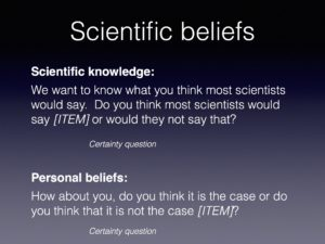 sources of scientific knowledge