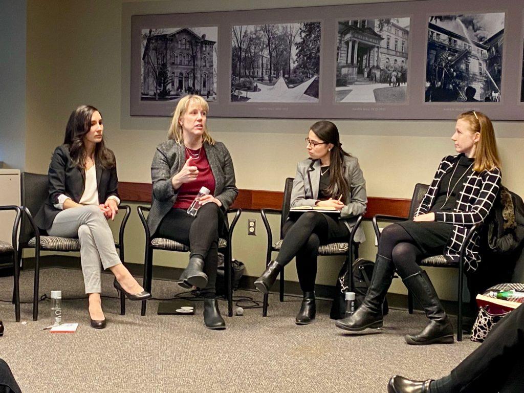 Mara Ostfled, Christina Wolbrecht, Angela Ocampo, and Corrine McConnaughy